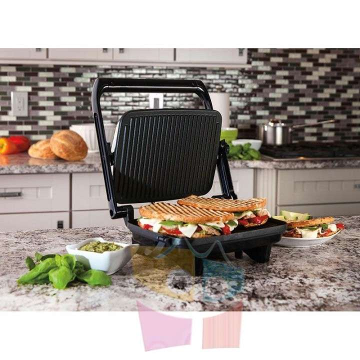 Grill Sandwichera - Hamilton Beach - Panini Press Gourmet - 1
