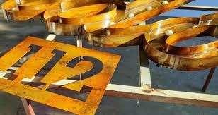 Letras y Numeros corporeos Oxidados - 1