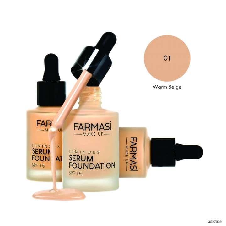 Luminous Serum Foundation SPF15 30 ml - 0
