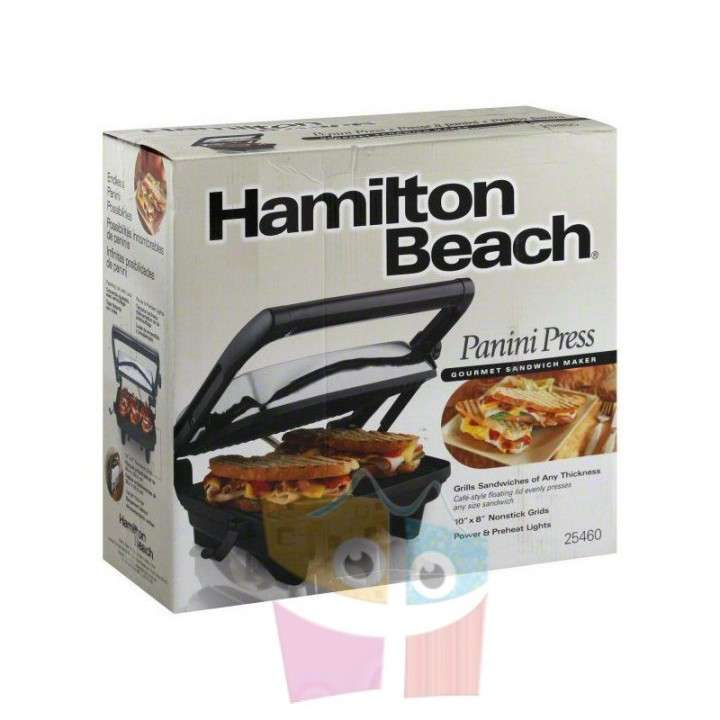 Grill Sandwichera - Hamilton Beach - Panini Press Gourmet - 5