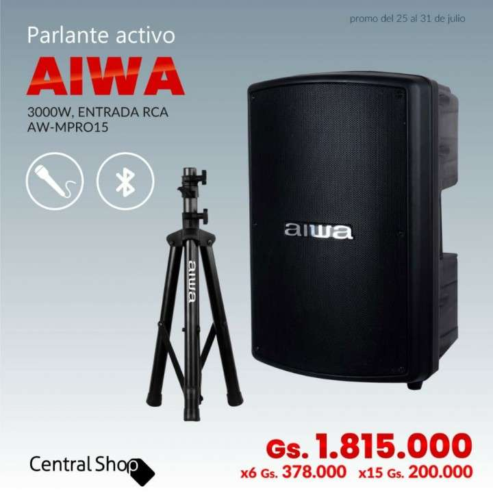 Parlante Aiwa - 0