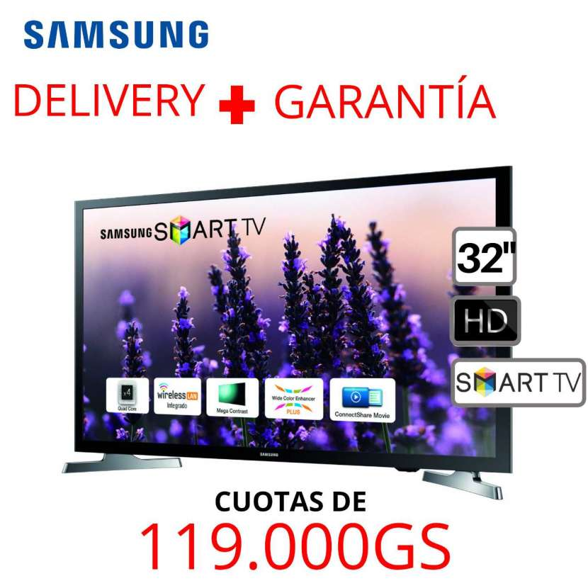 Smart TV Samsung 32 pulgadas HD - 0
