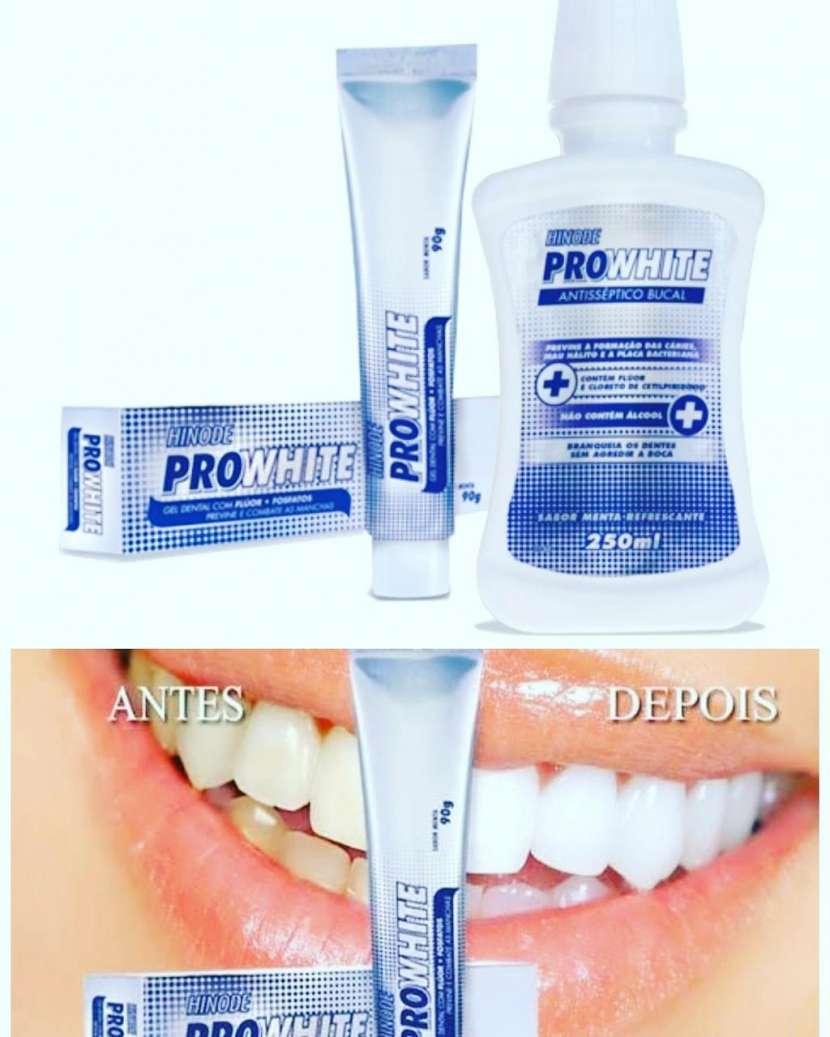 Crema dental blanqueadora y enjuague bucal - 0