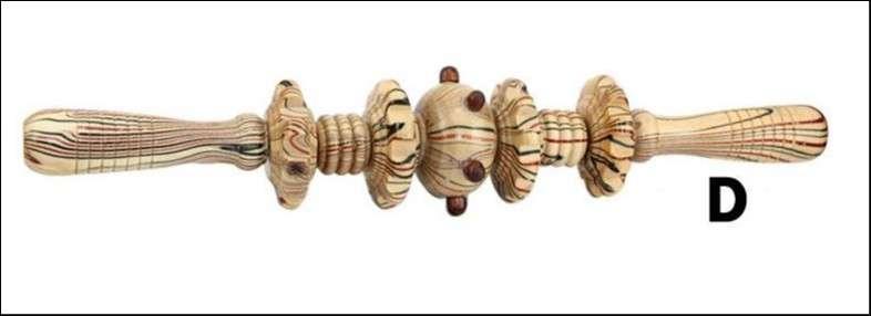 Masajeador de madera - 0