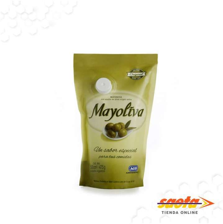 Mayonesa Mayoliva sachet 500 cc x 12 unidades - 0