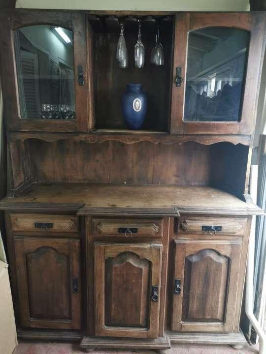 Mueble de madera rústica maciza - 0