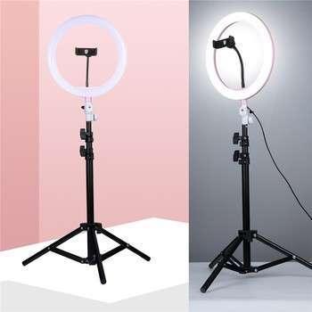Aro de luz led para maquillaje y fotos moderno - 0