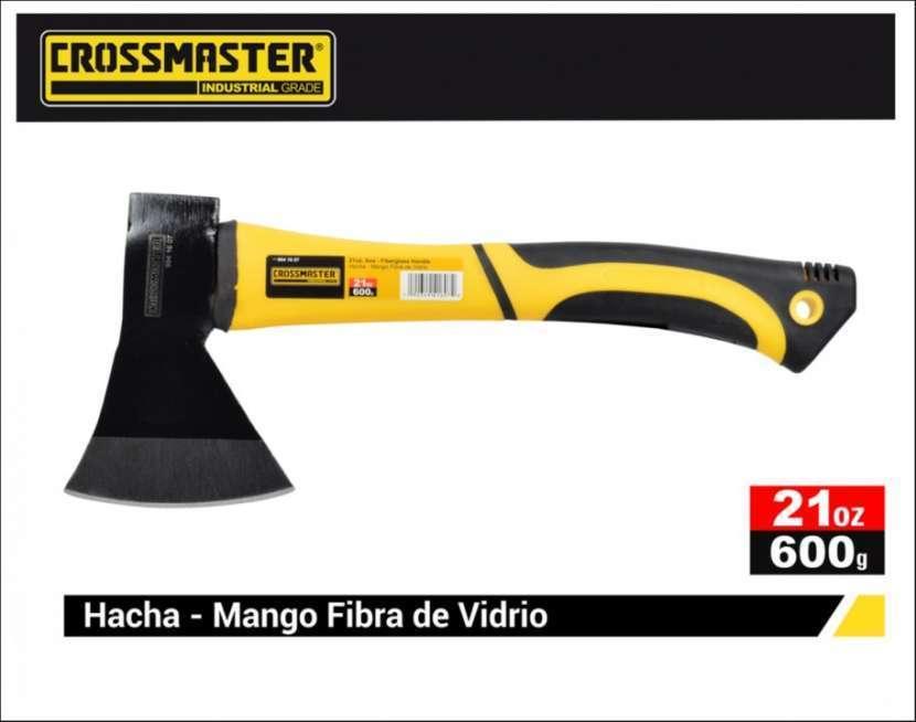 Hacha mango fibra de vidrio 600g Crossmaster 9941607 - 1