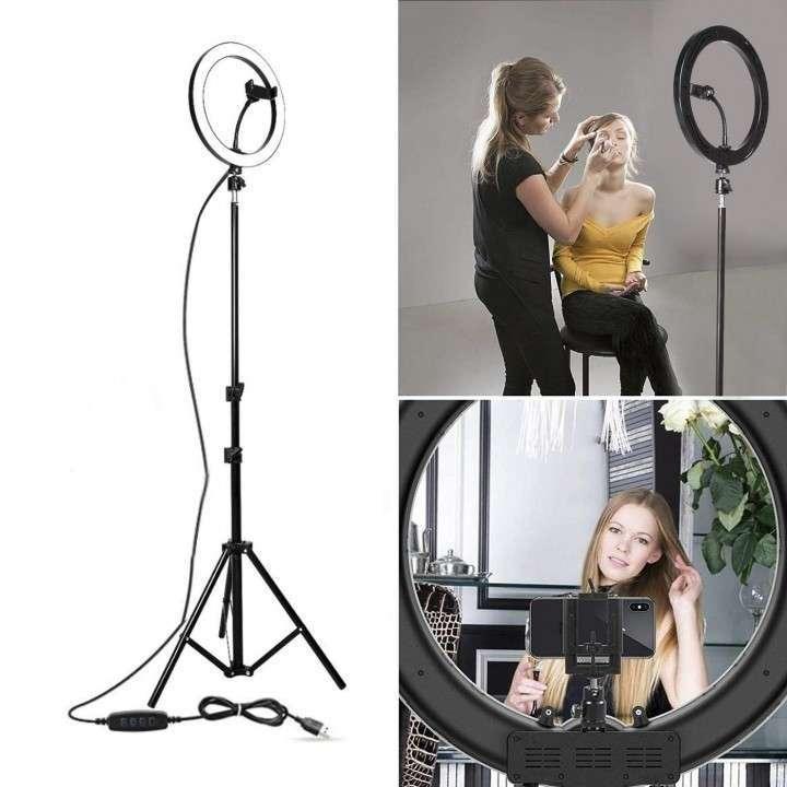 Aro de luz led para maquillaje y fotos moderno - 1