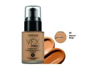 Base vfx pro cámara 02 nat beige 30 ml