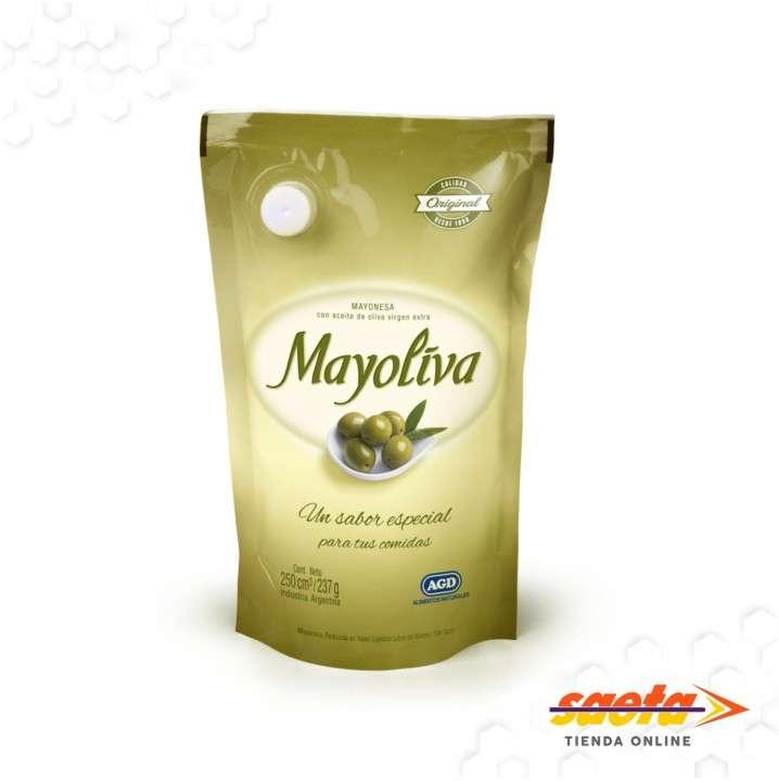 Mayonesa Mayoliva 250cc x 12 unidades - 0