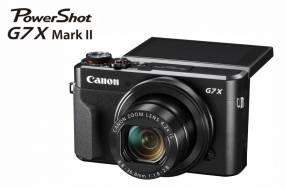 Cámara Canon G7X Mark II