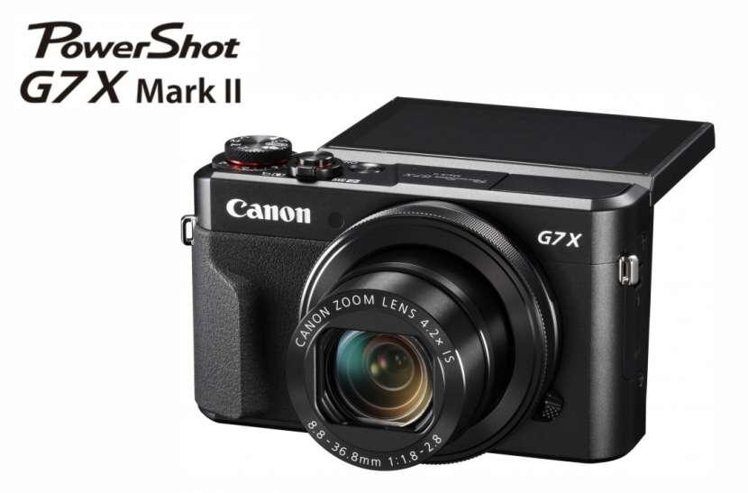 Cámara Canon G7X Mark II - 0