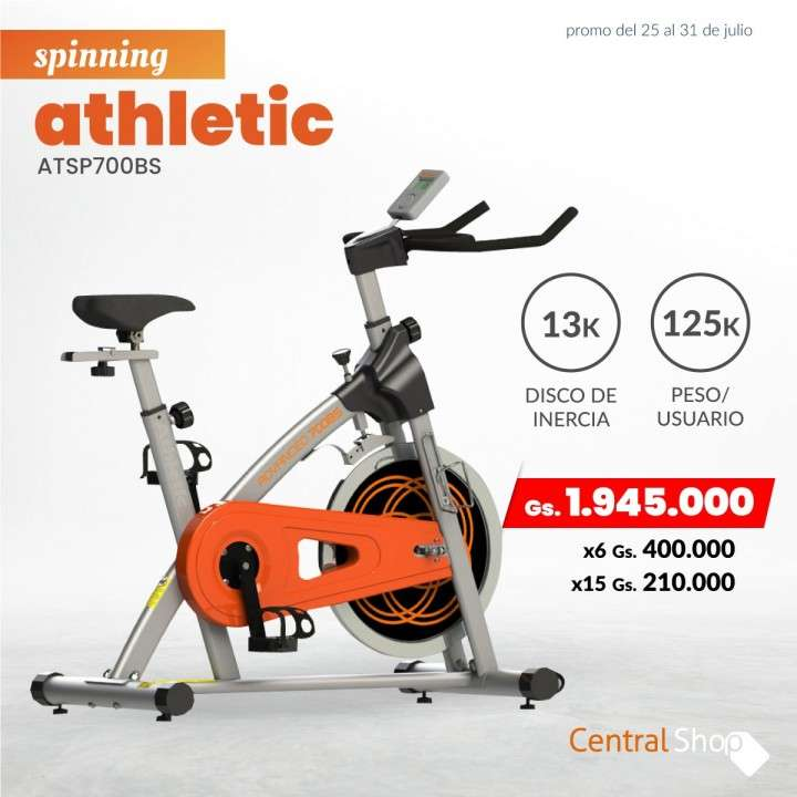 Spinning Athletic - 0