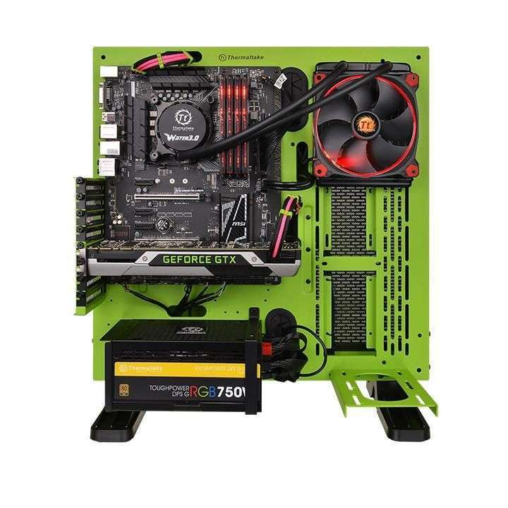 Cooler Thermaltake Hydro 3.0 Riing x 120 CL-W159-PL - 1