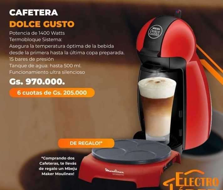 Cafetera Dolce Gusto - 0