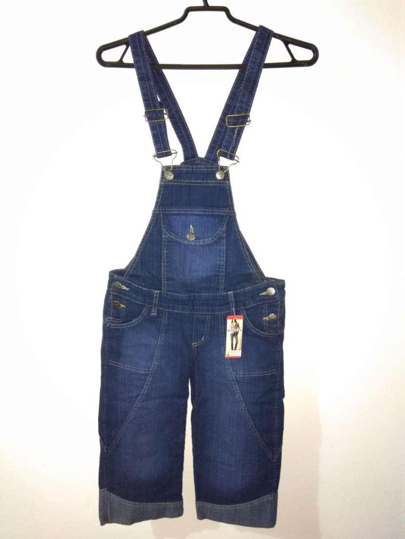 Jardinera de jeans DAMA - 0