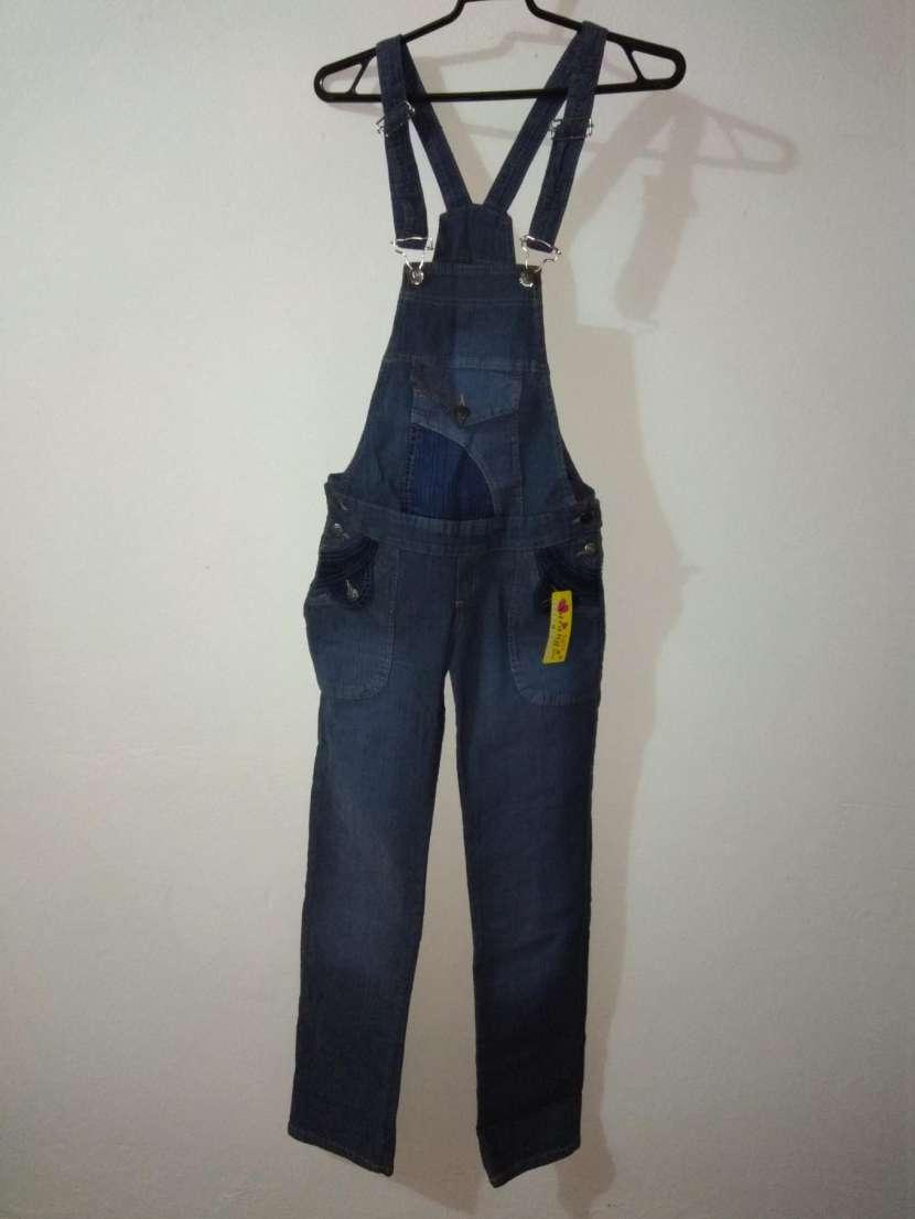 Jardinera de jeans DAMA - 1