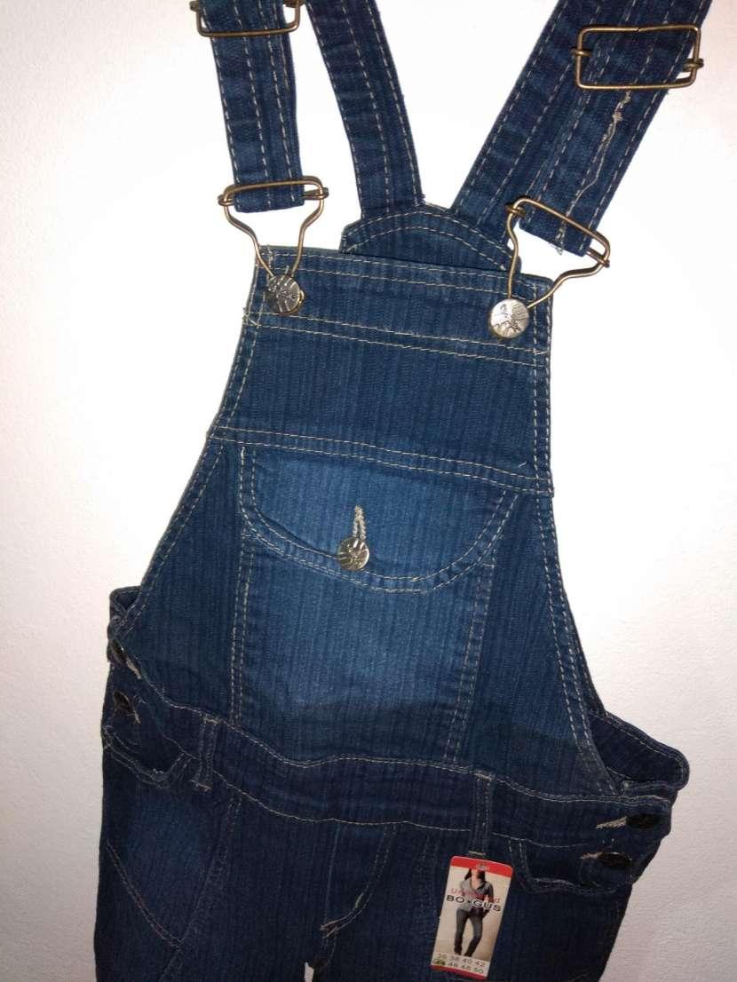 Jardinera de jeans DAMA - 4