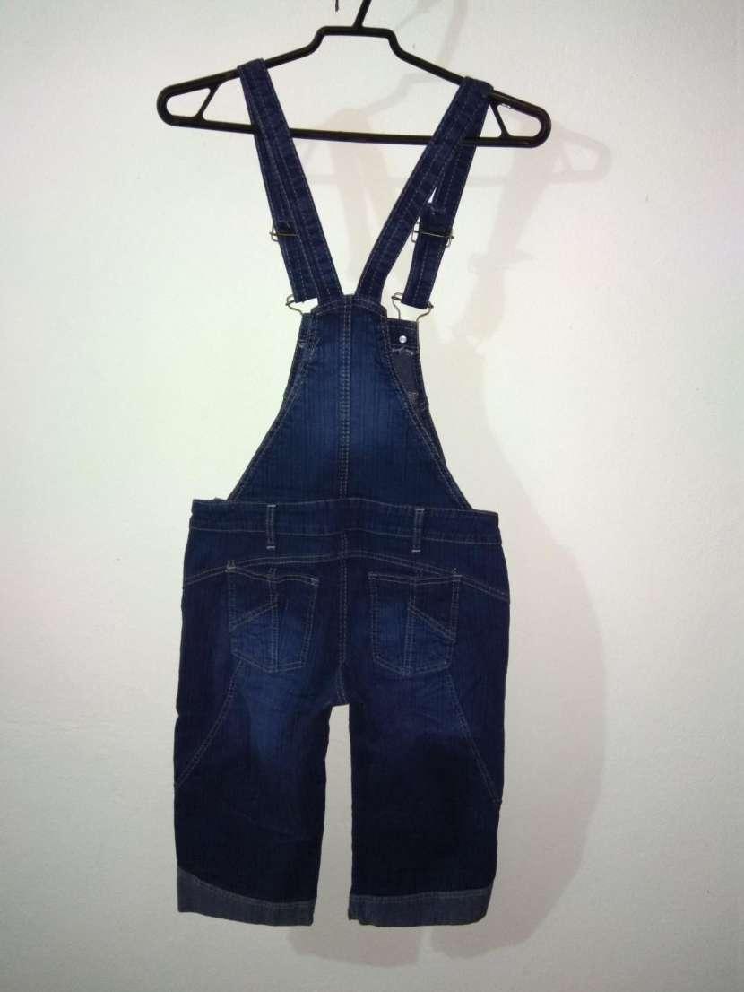 Jardinera de jeans DAMA - 5
