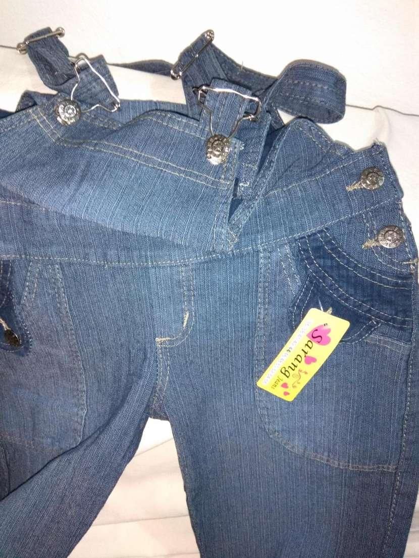 Jardinera de jeans DAMA - 6