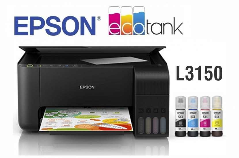 Impresora Multifunción Epson Ecotank L3150 - 0