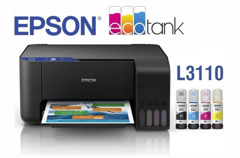 Impresora Multifunción Epson Ecotank L3110 - 0
