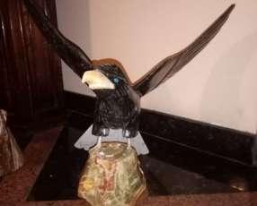 Esculturas de Aves en Piedras (cuarzo)
