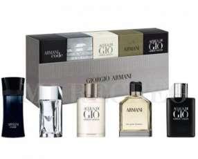 Mini Kit colección x5 Armani