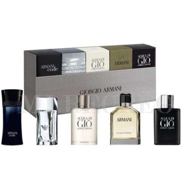 Mini Kit colección x5 Armani - 0