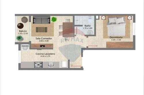 Departamento de 1 habitación y cochera - 8
