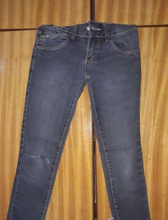 Jeans rasgado infantil - 0