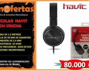 Auricular con micrófono Havit