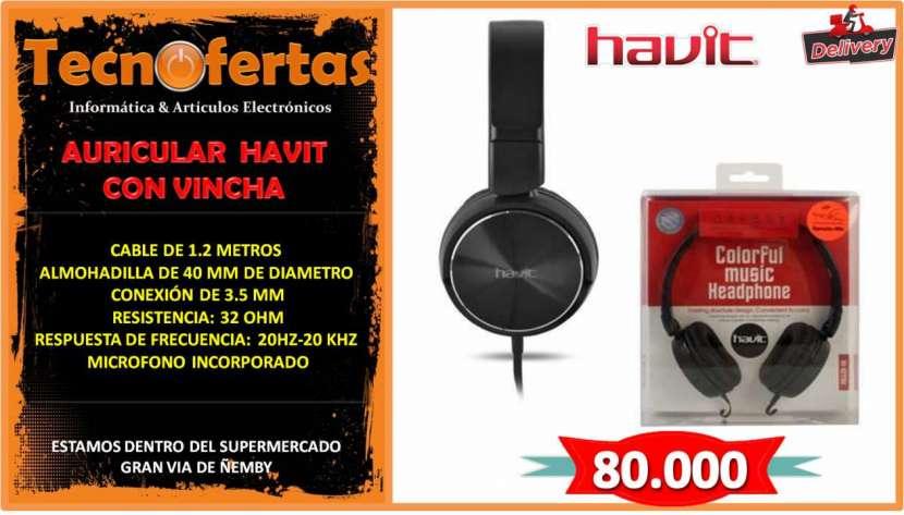 Auricular con micrófono Havit - 0