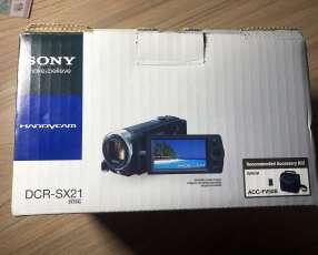 Cámara Filmadora Sony DCR-SX 21