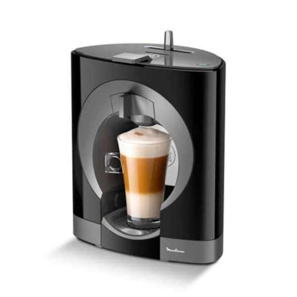 Cafetera Moulinex dolce gusto oblo negra 800ML PV110558 EDXC - 0