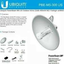 AirMax PowerBeam M5-300 Antena 22 dBi 5GHz 802.11a/n PBE-M - 0