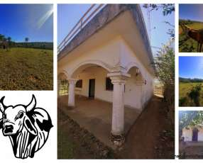 Estancia 285 hectáreas en el departamento de Paraguarí