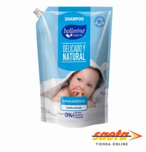 Shampoo Ballerina hipoalergénico 900 ml