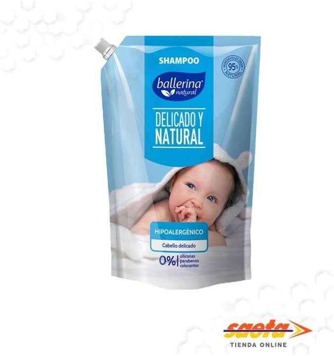Shampoo Ballerina hipoalergénico 900 ml - 0