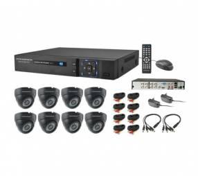 CCTV de Vigilancia Powerpack DVRCA-088 + 8 Cámaras