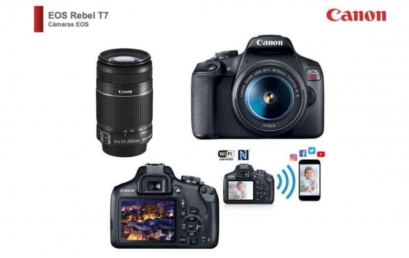 Cámara Canon T7 Kit Premium - 0
