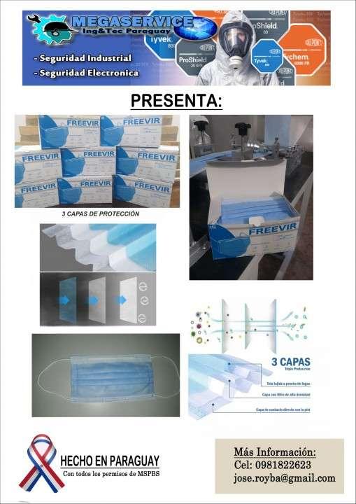 Tapabocas quirúrgicas spunbond + meltblown + spunbond - 3