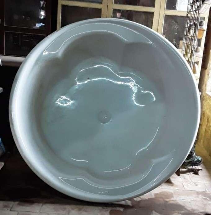 Bañera de fibra de vidrio - 0