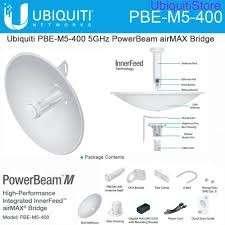 PowerBeam M5-400 Antena 25 dBi 5GHz 802.11a/n Dual-Pol PB - 0