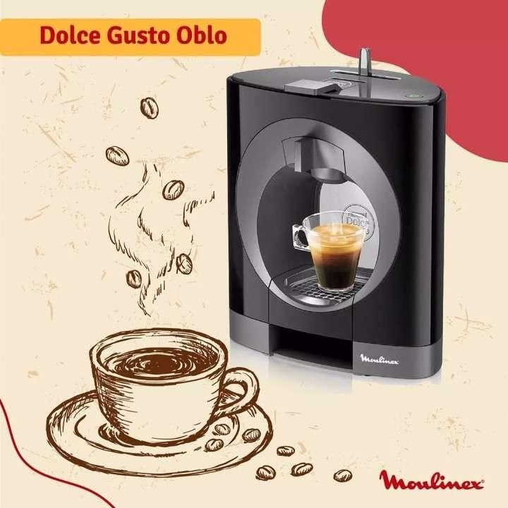 Cafetera Moulinex dolce gusto oblo negra 800ML PV110558 EDXC - 1