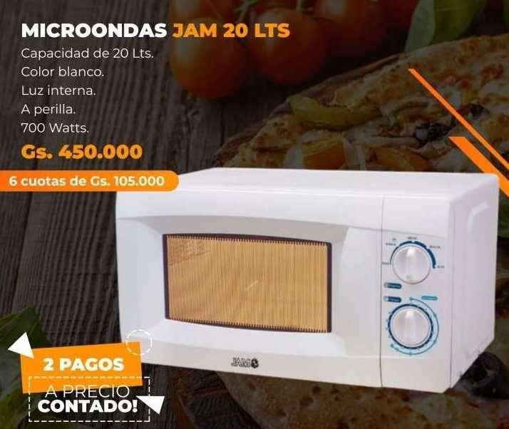 Microondas 20 litros - 0