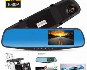 Espejo retrovisor con cámara y pantalla integrada