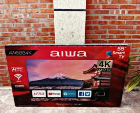Smart tv 4k Aiwa 58 pulgadas