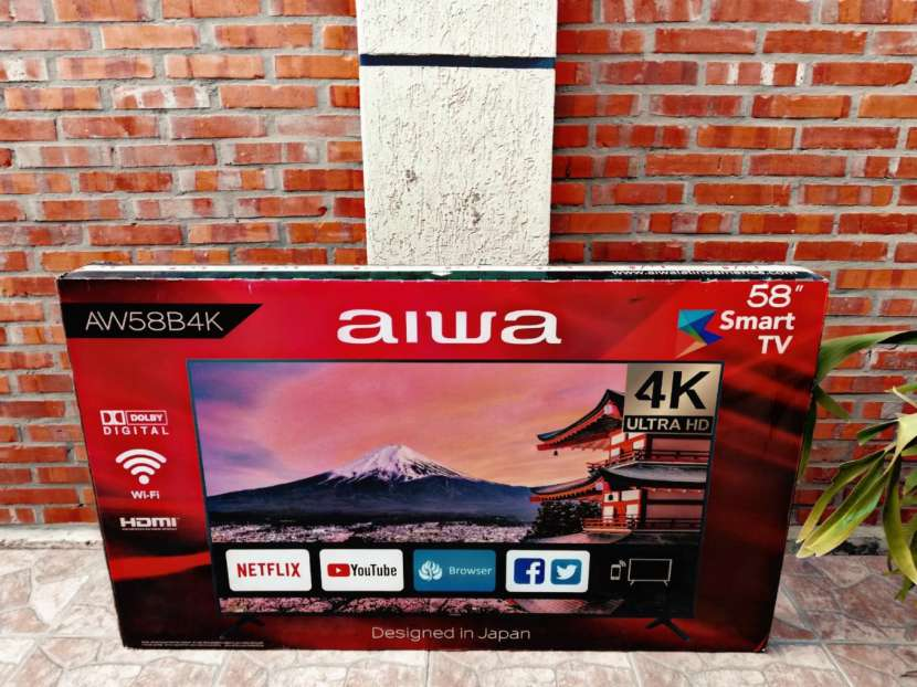 Smart tv 4k Aiwa 58 pulgadas - 0